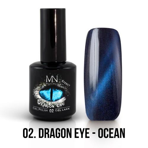 Gel Polish Dragon Eye Effetto 02 - Ocean 12ml