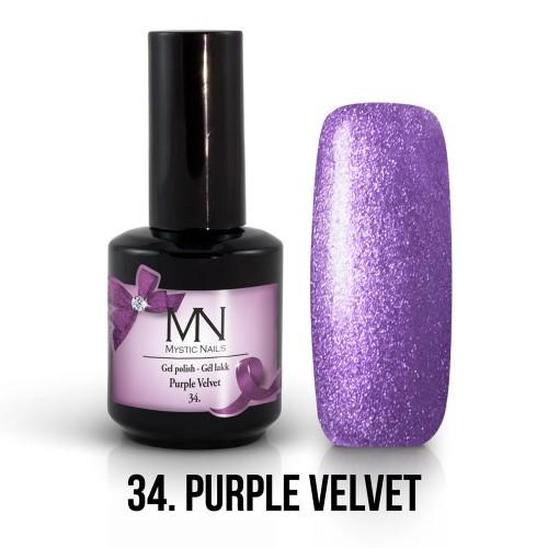 Gel Polish 34 - Purple Velvet 12ml