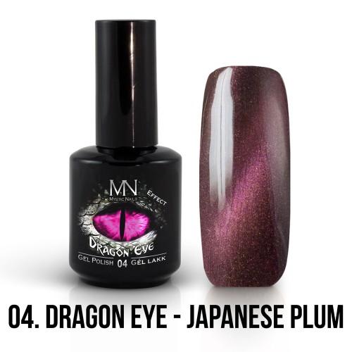Gel Polish Dragon Eye Effetto 04 - Japanese Plum 12ml