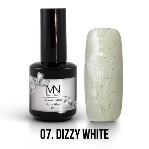 Gel Polish Dizzy 07 - Dizzy White 12ml