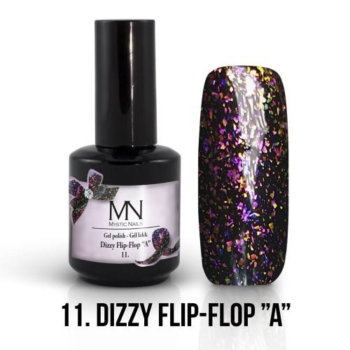 Gel Polish Dizzy 11 - Dizzy Flip-Flop A 12ml