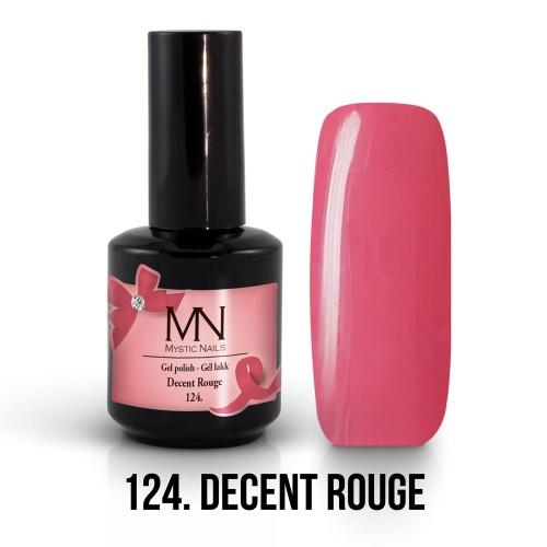 Gel Polish 124 - Decent Rouge 12ml