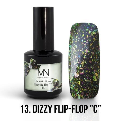 Gel Polish Dizzy 13 - Dizzy Flip-Flop C 12ml
