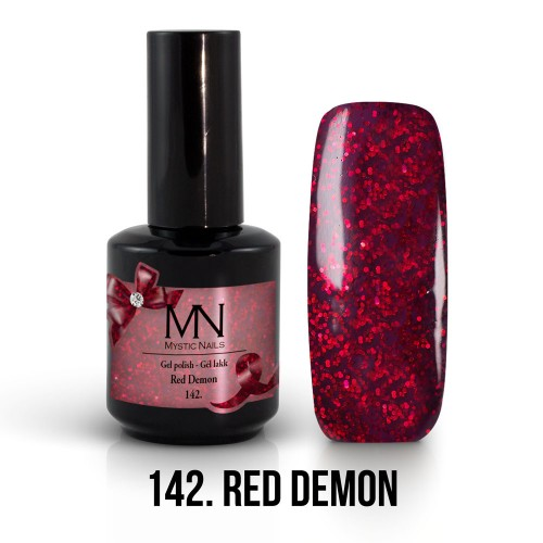 Gel Polish 142 - Red Demon 12ml