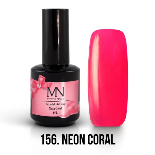 Gel Polish 156 -  Neon Coral 12ml