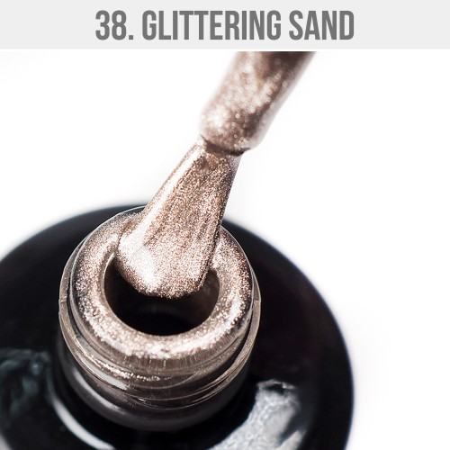 Gel Polish 38 - Glittering Sand 12ml