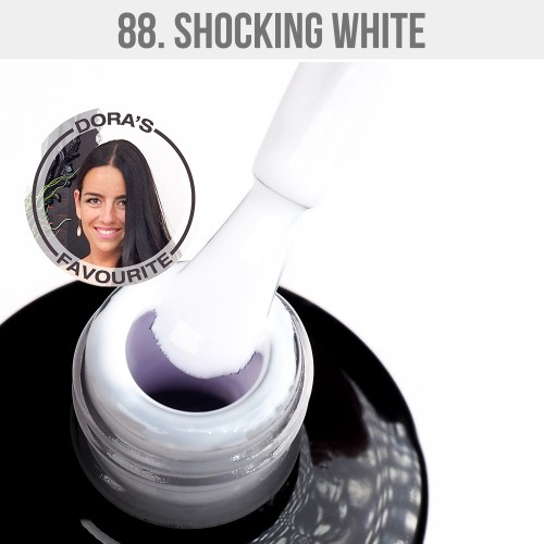 Gel Polish 88 - Shocking White 12ml