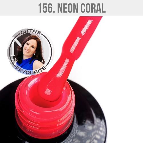 Gel Polish 156 -  Neon Coral 12ml