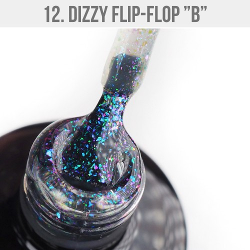 Gel Polish Dizzy 12 - Dizzy Flip-Flop B 12ml