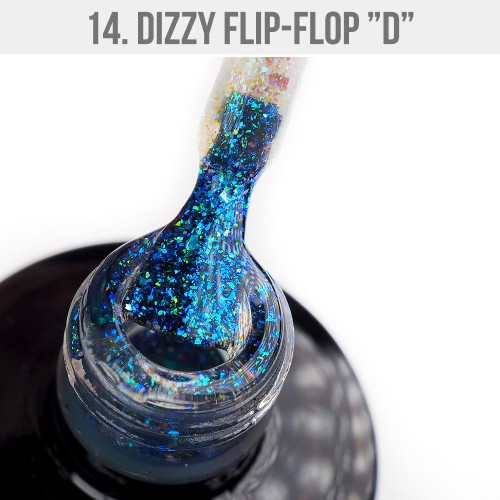 Gel Polish Dizzy 14 - Dizzy Flip-Flop D 12ml