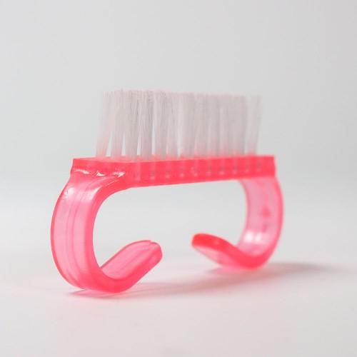 Spazzolino - piccolo- rosa- maneggevole