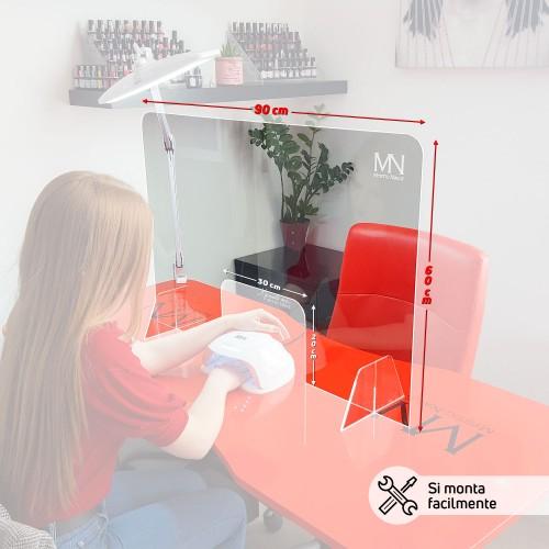 Schermo Prottetivo in plexiglass trasparente
