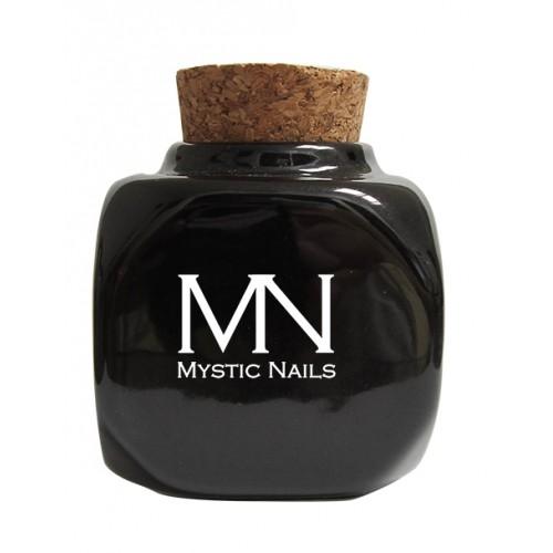 Vasetto in ceramica con tappo in sughero - nero (Professionale)