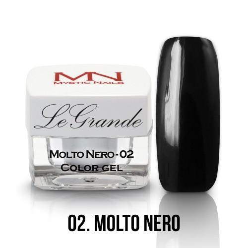 LeGrande Color Gel - no.02. - Molto Nero - 4g