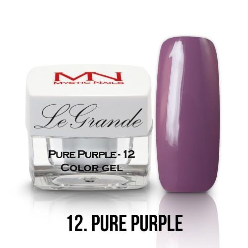 LeGrande Color Gel - no.12. - Pure Purple - 4g