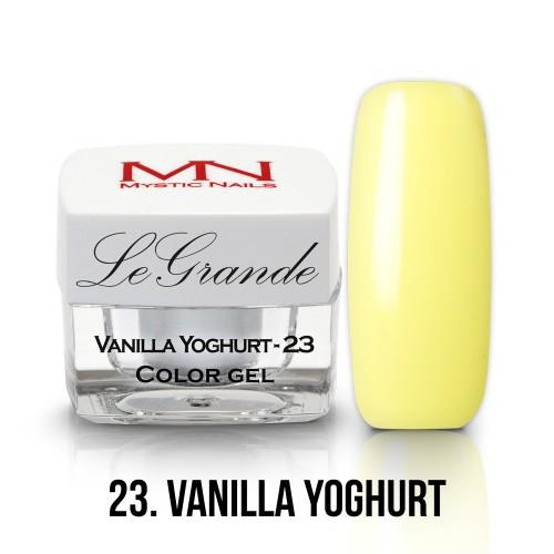 LeGrande Color Gel - no.23. - Vanilla Yoghurt - 4g