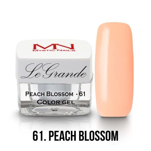 LeGrande Color Gel - no.61. - Peach Blossom - 4g