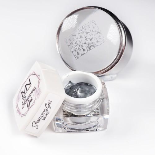 Stamping Gel - Silver - 4g