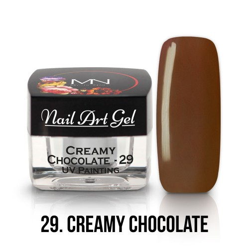 UV Nail Art Gel- 29 - Creamy Chocolate - 4g