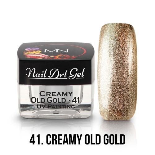 UV Nail Art Gel - 41 - Creamy Old Gold - 4g