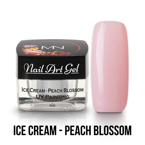 UV Nail Art Gel- Ice Cream - Peach Blossom - 4g