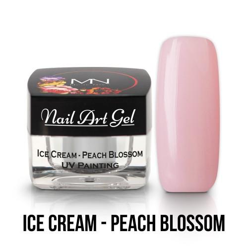 UV Nail Art Gel- Ice Cream - Peach Blossom - 4g