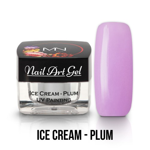 UV Nail ARt Gel- Ice Cream - Plum - 4g
