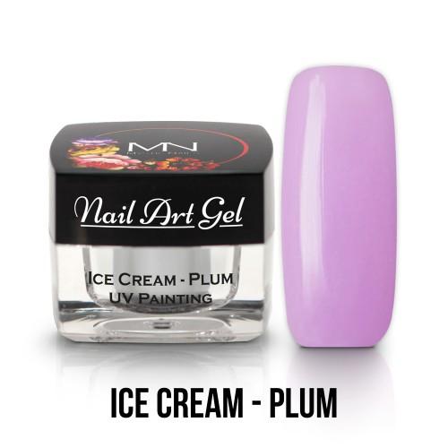 UV Nail ARt Gel- Ice Cream - Plum - 4g