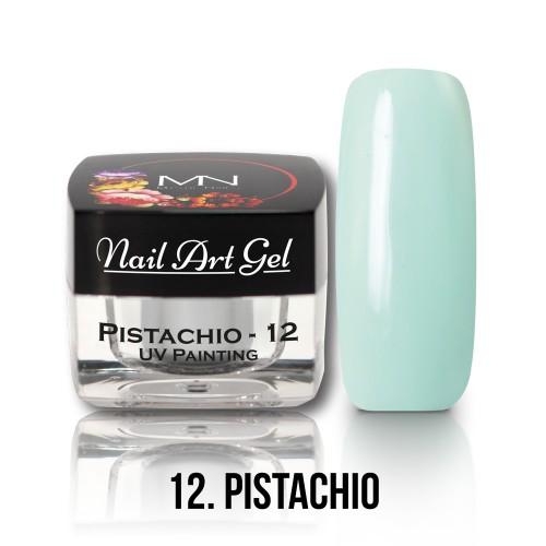 Nail Art Gel - 12 - Pistachio - 4g