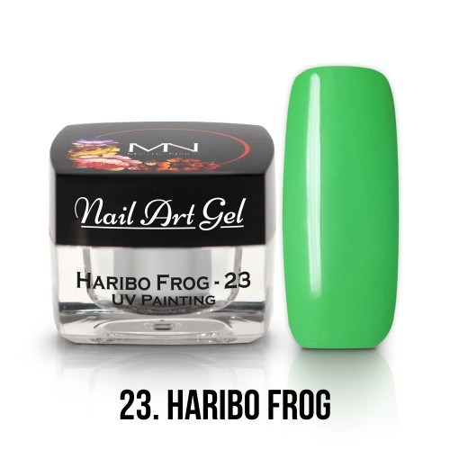 UV Nail Art Gel- 23 - Haribo Frog - 4g