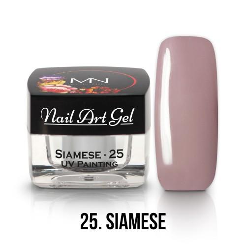 UV Nail Art Gel- 25 - Siamese - 4g