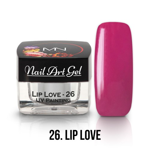 UV Nail Art Gel- 26 - Lip Love - 4g