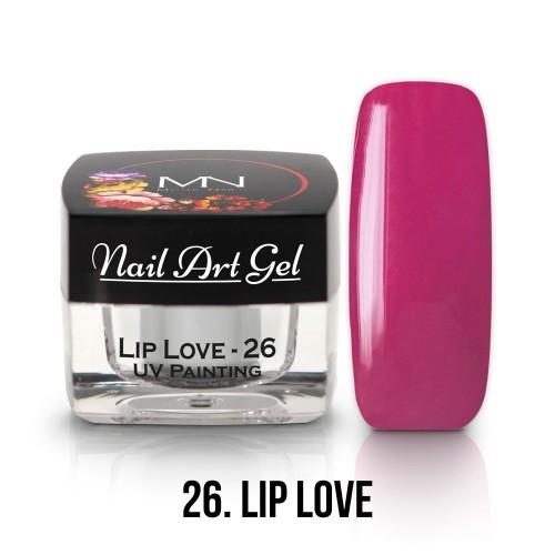 UV Nail Art Gel- 26 - Lip Love - 4g
