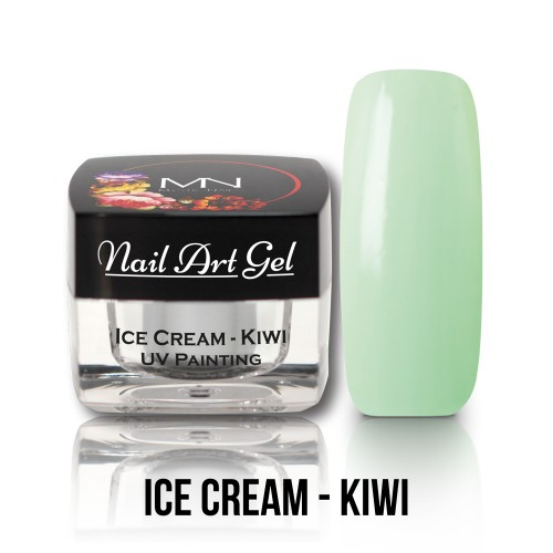 Nail Art Gel - Ice Cream - Kiwi - 4g