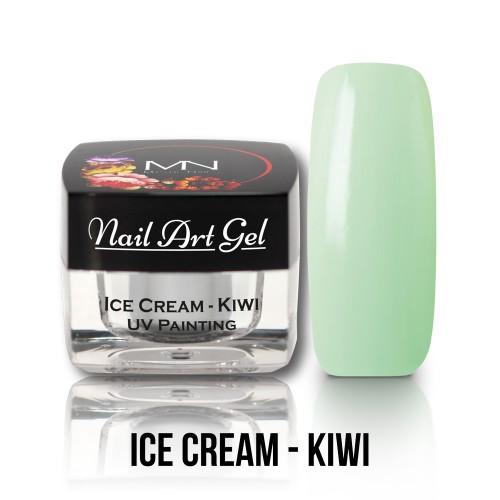 UV Nail Art Gel- Ice Cream - Kiwi - 4g