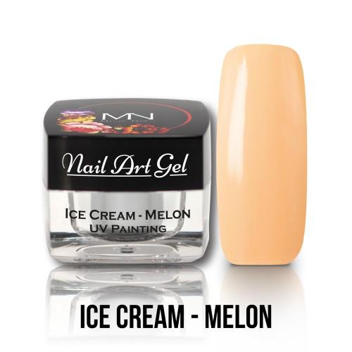 UV Nail Art Gel- Ice Cream - Melon - 4g