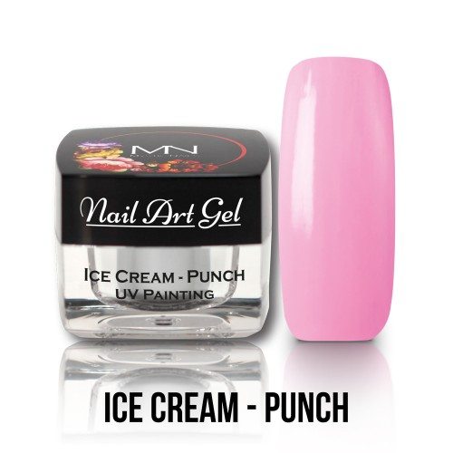 UV Nail Art Gel- Ice Cream - Punch - 4g
