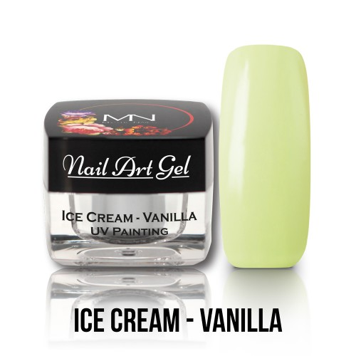 UV Nail Art Gel- Ice Cream - Vanilla - 4g