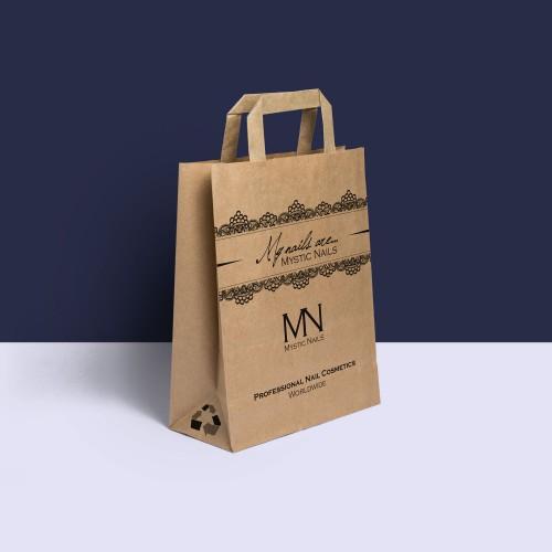 Mystic Nails sacchetto di carta riciclata