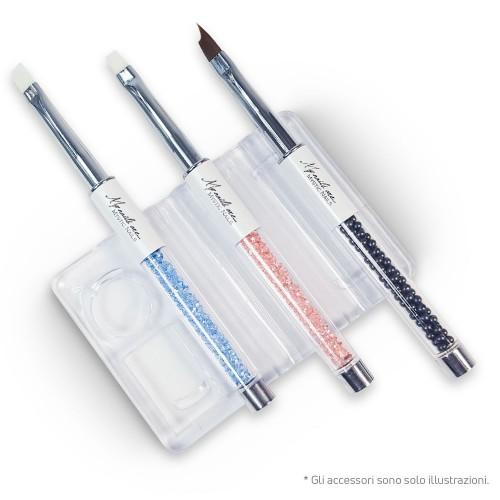 Porta pennelli - trasparente