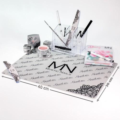 Tovaglietta in silicone Mystic Nails - grigio